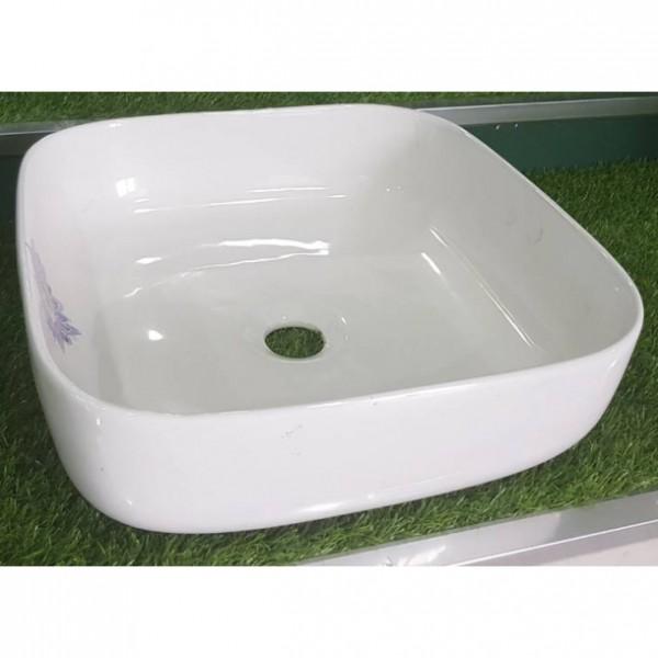 Порцеланова миква за баня Зейн – тип квадратна купа