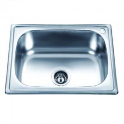Кухненска мивка от алпака овално корито ICK D6045P