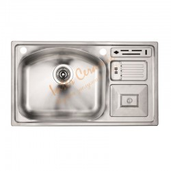 Мивка за кухня модел от алпака ICK 7845 – Интер Керамик