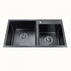 Кухненска мивка алпака тип двойна ICK 7822 – Интер Керамик