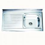Бордова кухненска мивка от алпака – Интер Керамик