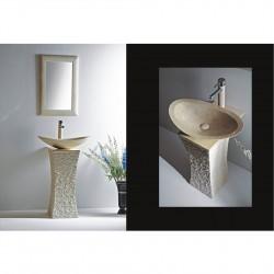Луксозна мивка върху стояща конзола ICL 4575