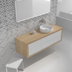 Мебел за баня шкаф и плот –  ICC 14046