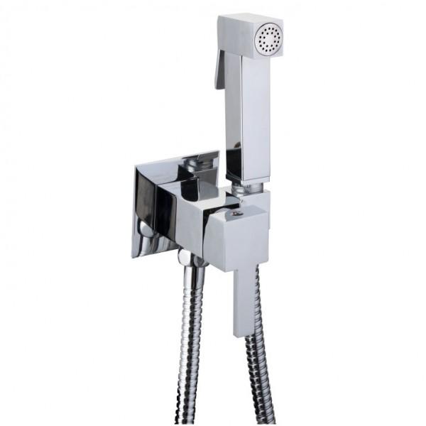 Месингова слушалка квадратен дизайн – хигиенен душ