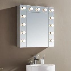 LED Огледален шкаф Айрис – Inter Ceramic
