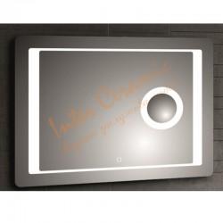 Хай-тек огледало за баня с LED осветление – Интер Керамик