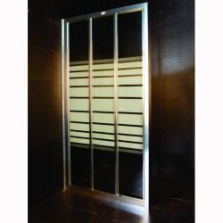 Параван за баня с рисувано стъкло – Интер Керамик