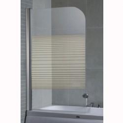 Стъклен параван за вана – модел ICS 112F/31 Интер Керамик