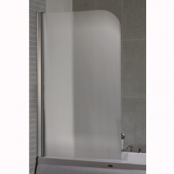 Параван за вана с матирано стъкло – Интер Керамик