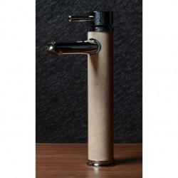 Висок месингов смесител за мивка с цветна облицовка – ICF 1458235С