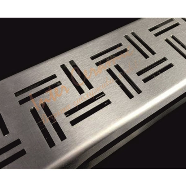 Подов лентов сифон с геометрична декорация