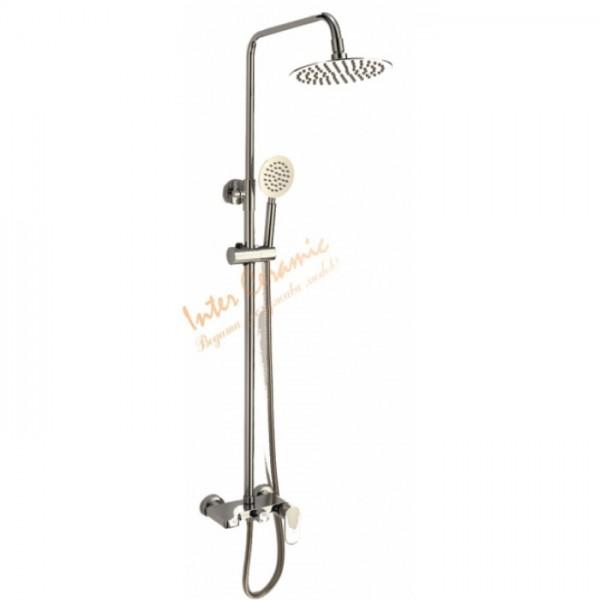 Телескопично тръбно окачване за баня – модел Кая