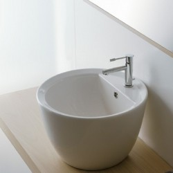 Умивалник R 8055/R в бяло в бяло от Scarabeo/ Колекция MATTY TONDO