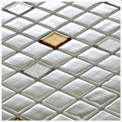 Стъклокерамични плочки тип мозайка B-2548 Pales - Колекция Millenieum