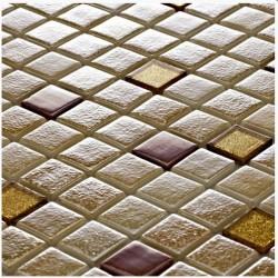 Стъклокерамични плочки тип мозайка B-2542 Egeria - Колекция Millenieum