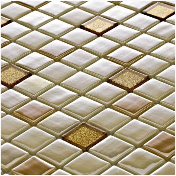 Стъклокерамични плочки тип мозайка B-2540 Edusa - Колекция Millenieum