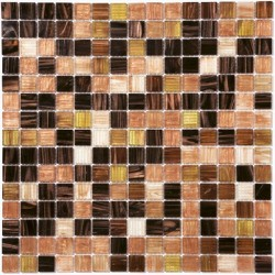 Стъклокерамични плочки тип мозайка R-8800 Yuman - Колекция Retro