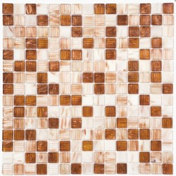 Стъклокерамични плочки тип мозайка R-8809 Bian - Колекция Retro