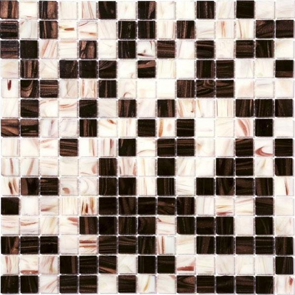 Стъклокерамични плочки тип мозайка R-8870 Puce - Колекция Retro