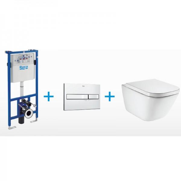 Тоалетна чиния за окачване на стена GAP CLEAN RIM