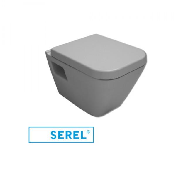 Тоалетна чиния Diagonal - Конзолна с бидетна система и softclose
