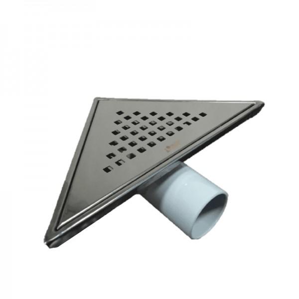 Черен триъгълен сифон инокс – модел SAY.71.KCR.P.SAS