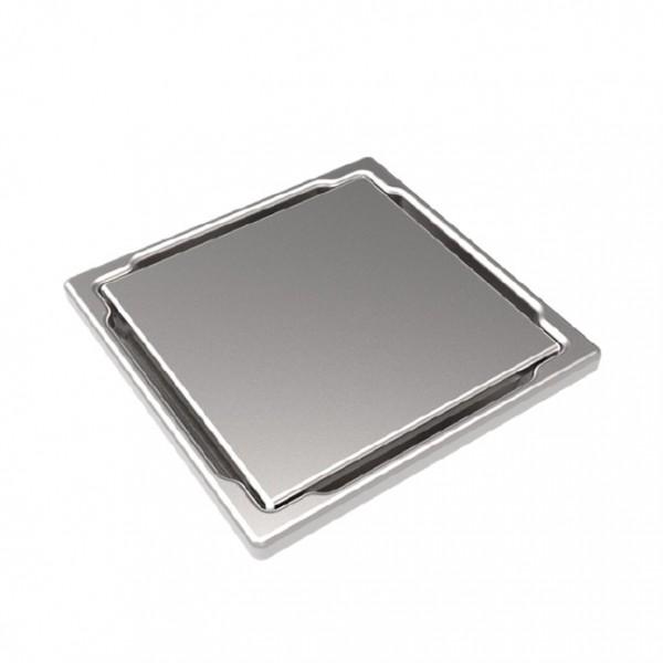 Подов точков сифон сиво стъкло DS-11-CD Gray