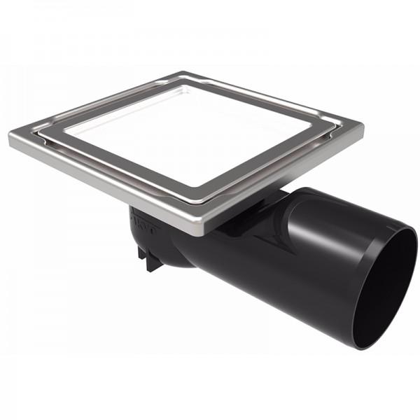 Бял точков сифон за баня DS-11-SD White