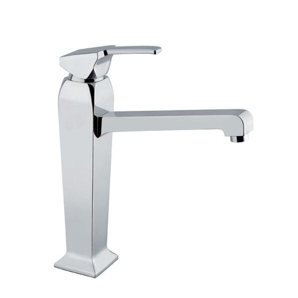 Стоящ смесител за мивка - висок модел