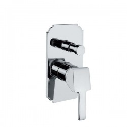 Смесител за душ за вграждане с превключвател