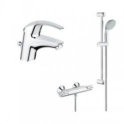 Grohetherm  - Практичен комплект за баня