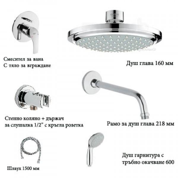 Eurosmart WC Комплект за вграждане