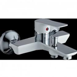 Стенен месингов смесител за душ/вана – Хана Inter Ceramic