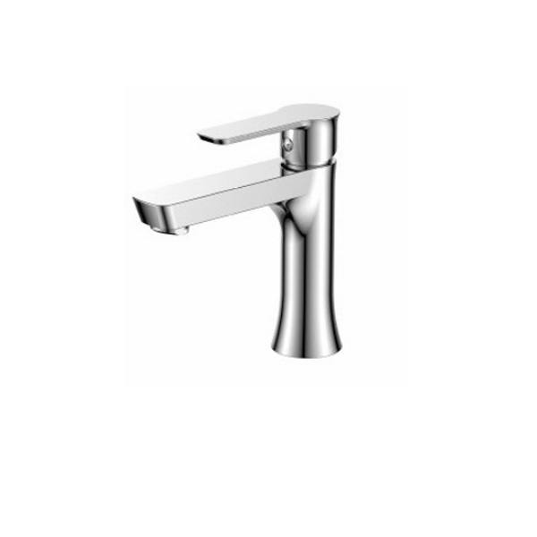 Стоящ месингов смесител за мивка от серията Финес на Inter Ceramic