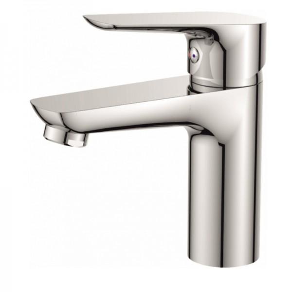 Елегантен стоящ месингов смесител за мивка Емма –  Inter Ceramic