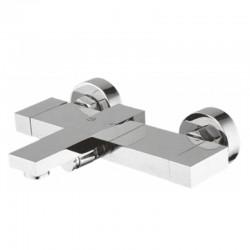 Стенен месингов смесител за душ/вана Куатро – Inter Ceramic