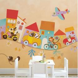 Детски тапети за стена модел – LULLABY
