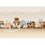 Детски тапети за стена модел –  PELUCHES