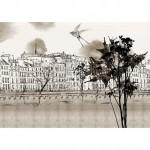 Влагоустойчиви тапети за баня PARIS