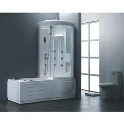 Комплект вана с душ кабина с хидромасажна система