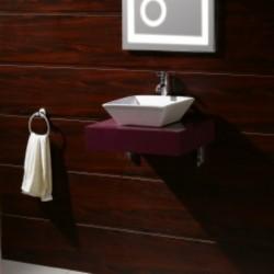 Бял PVC плот за баня