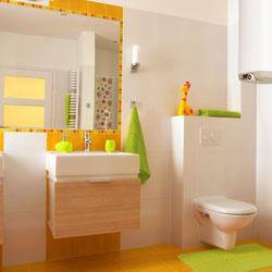 Идеи за добавяне на цвят към банята