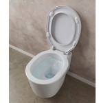 Стенна тоалетна чиния тип кофа