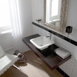 Мивка за баня в компактен дизайн