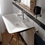 Уникална мивка за баня Butterfly 90