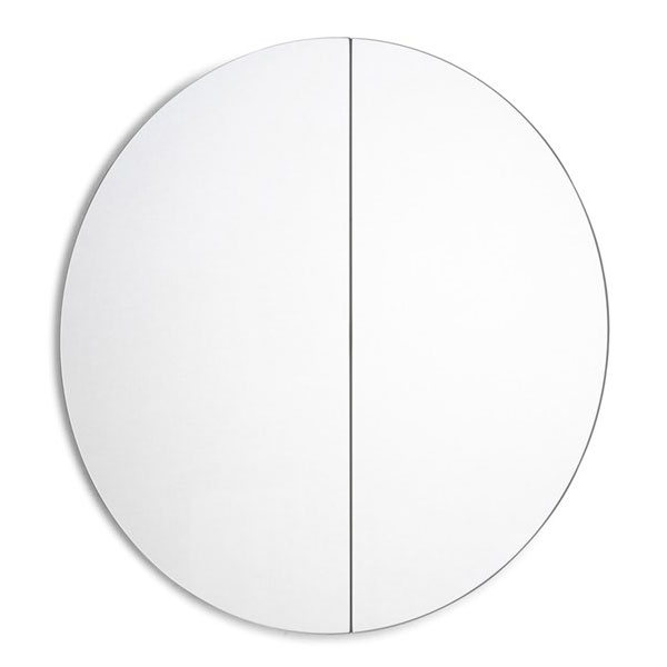 Уникално кръгло огледало за баня Fuji