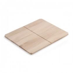 Дървен рафт - аксесоар за колекциите конзоли за мивка Fuji