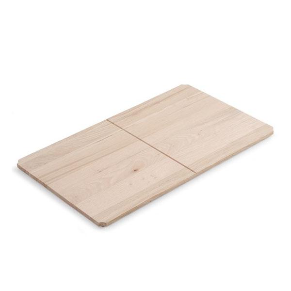 Дървен рафт среден размер за конзола за мивка