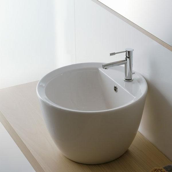 Кръгъл умивалник за баня Tondo R