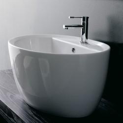 Мивка за баня в овален дизайн